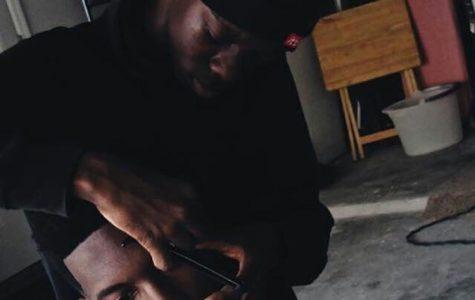 Behind the scenes of barber Jerron Singletary
