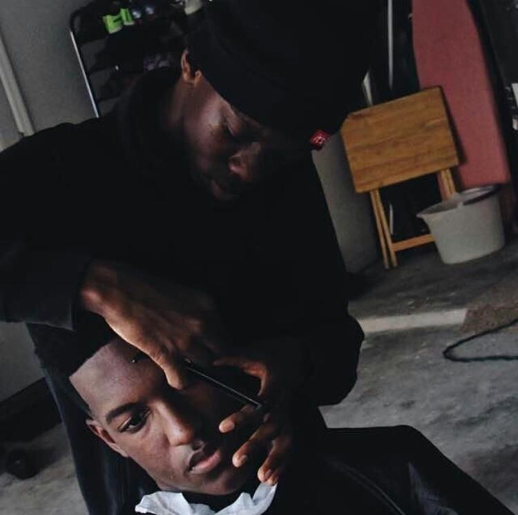 Behind the scenes of barber Jerron Singletary