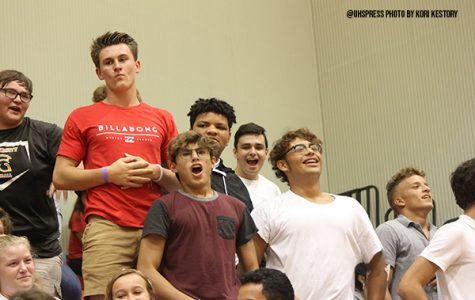 Classes clash in annual pep rally