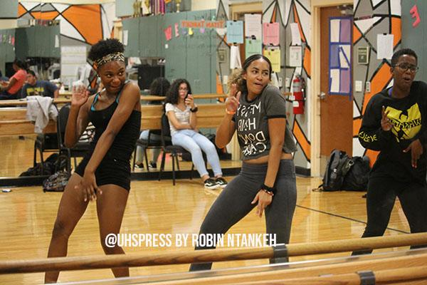 We have a lot of talented dancers this year that help us come up with a lot of different moves that are recent and that people love. Usually when we go out to any performance everybody loves us and we hype them up, senior and Titan Dance captain, Madelyn Pichardo, said.