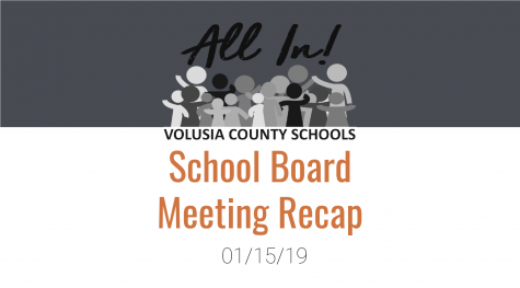 Volusia County School Board January meeting recap
