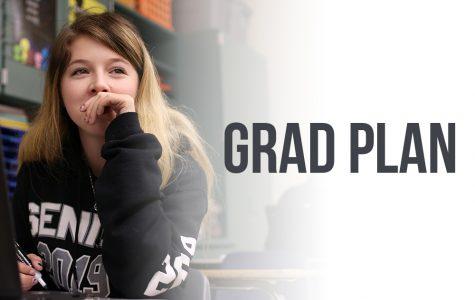 Discussing graduation credits and campus concerns, GRAD plan