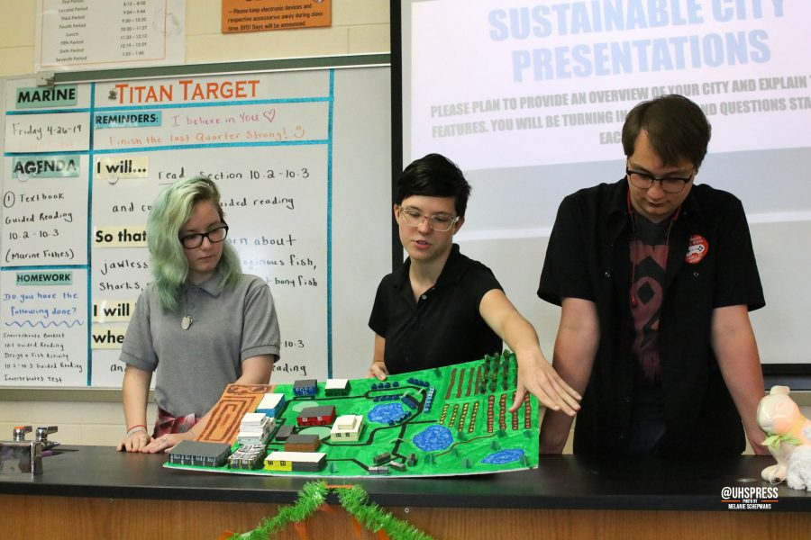 APES students build sustainable cities
