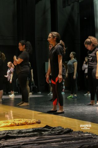 Spinning out of your comfort zone: color guard holds field season auditions