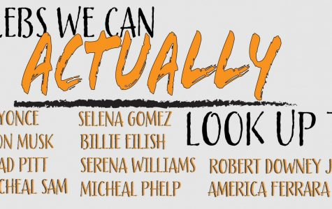 Celebrities we can look up to