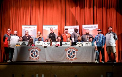 Seniors sign away to the next four years