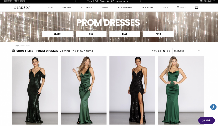 Best online shops for prom dresses