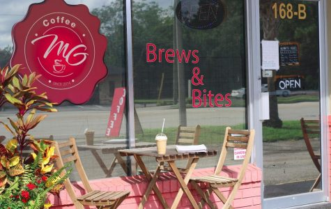 MG's Coffee Brews and Bites is a local shop located in DeBary, FL. 168 South Charles Richard Beall Boulevard B Suite B. It's a small cozy place owned by the couple, Marina Nagy and Garth John. The menu has everything from hot and cold beverages to sandwiches, cakes, and pastries.